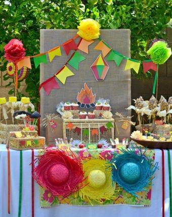 Festa Junina - mesa 2