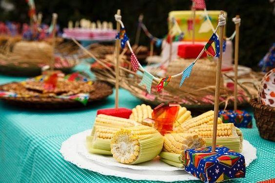 festa junina-milho