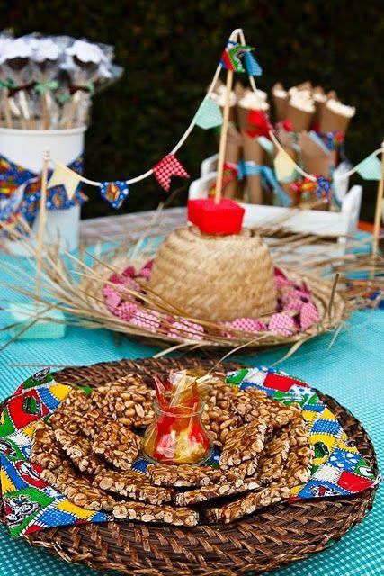 festa junina-pé de moleque