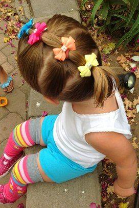 penteados infantis