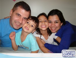 Joceli e sua família (linda!)