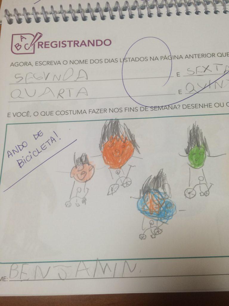 desenho de criança