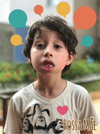 o poder do discurso infantil