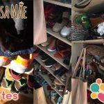 Descarte e organização do closet