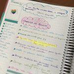 Como organizo o mês com planner