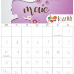 Calendário 2020 para imprimir e organizar a vida